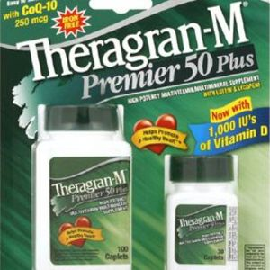 Theragran-M Premier 50 Plus Multivitamin/Multimineral Supplement
