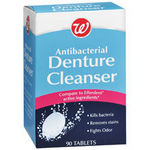 Walgreens Antibacterial Denture Cleanser