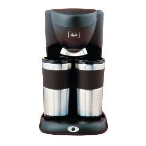 Melitta Take Stainless Steel Travel Mug Coffee Maker