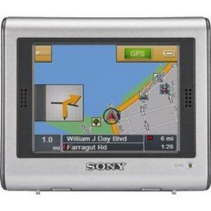 Sony NAV-U NV- Portable GPS Navigator