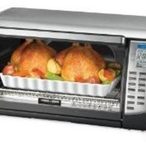 Black Amp Decker 6 Slice Digital Advantage Convection