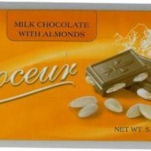 Choceur - Milk Chocolate with Almonds Bar