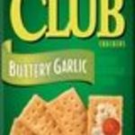 Keebler - Club Buttery Garlic Crackers