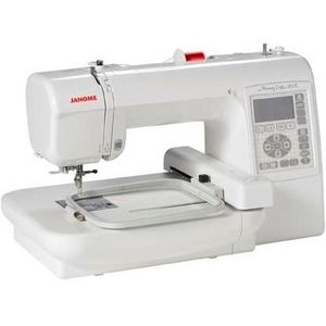 Janome Memory Craft Computerized Embroidery & Sewing Machine