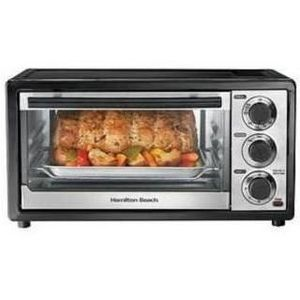 Hamilton Beach 6-Slice Toaster Oven with Broiler