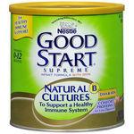 Nestle GOOD START Supreme NATURAL CULTURES BL Infant Powder Iron 24 oz can makes 174 oz 174oz