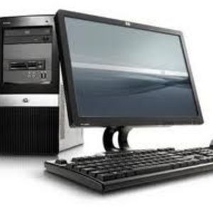 Compaq dx2400 MicroTower desktop computer