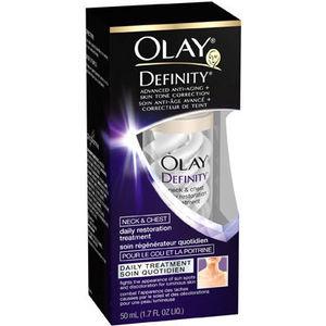 Olay Definity Neck & Chest Daily Restoration Treatment