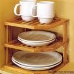 Mainstays Bamboo Corner Shelf