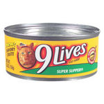 9 Lives Canned Cat Food