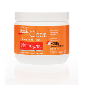Neutrogena Rapid Clear Daily Treatment Pads
