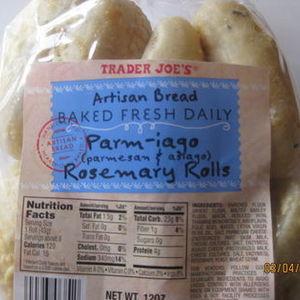 Trader Joe's Parm-iago Rosemary Rolls