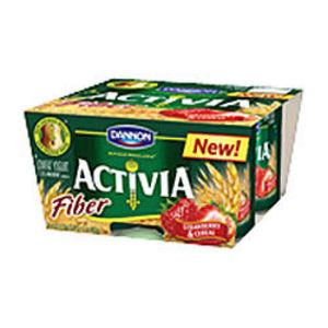Dannon Activia Yogurt with Fiber