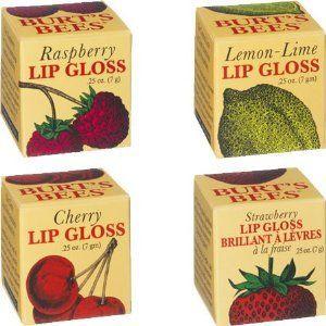 Burt's Bees Lip Gloss - Fruit Flavored (All Flavors)