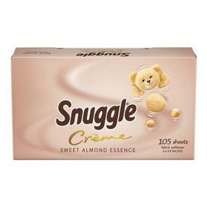 Snuggle Creme Almond Essence Dryer Sheets