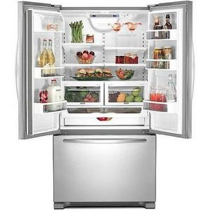KitchenAid Architect Series II French Door Refrigerator ...