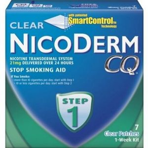 Nicoderm CQ Patches 1 Week Kit