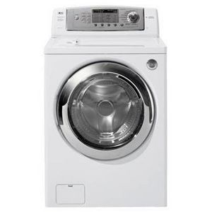 LG Rear-Control Front Load SteamWasher