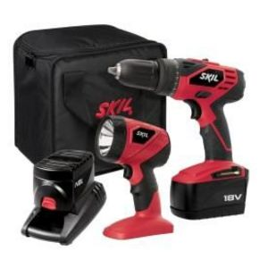 Skil 18-Volt Cordless Drill/Driver Kit