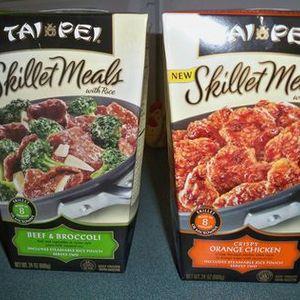 Tai Pei Skillet meals