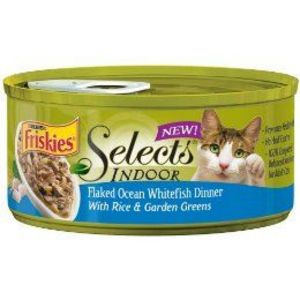 Friskies Indoor Selects Canned Cat Food