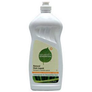Seventh Generation Natural Dish Liquid Lemongrass & Clementine Zest