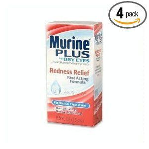 Murine Plus for Dry Eyes Redness Relief Eye Drops