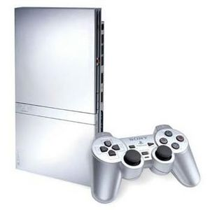 Sony - PlayStation 2 Silver Game Console