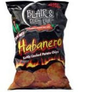 Blair's - Death Rain XXXHot Habanero Kettled Cooked Potato Chips