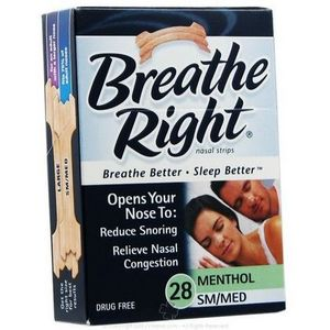 Breathe Right Nasal Strips - Menthol