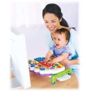 Fisher-Price Laugh, Smile and Learn Computer Learning System