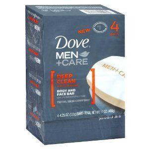 Dove Men+Care Deep Clean Bar Soap