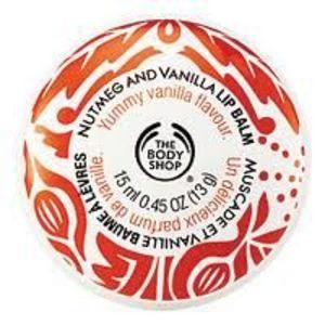 The Body Shop Nutmeg and Vanilla Lip Balm