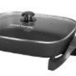 George Foreman 12-by-15-Inch Electric Skillet with Glass Lid