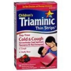 Children's Thin Strips Cold & Cough, Day Time