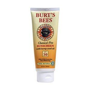 Burt's Bees Chemical Free Sunscreen SPF 30