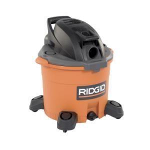 Ridgid Gallon Wet/Dry Vac Vacuum