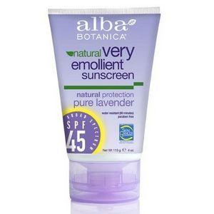 Alba Botanica Pure Lavender Sunscreen SPF 45