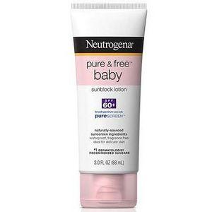 Neutrogena Pure & Free Baby Sunblock Lotion SPF 60+