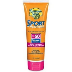 Banana Boat Sport Performance 50 SPF Sunscreen