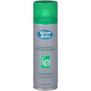 White Rain Unscented Extra Hold Hair Spray