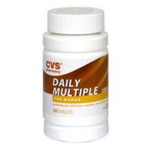 CVS Daily Multiple Vitamins For Women