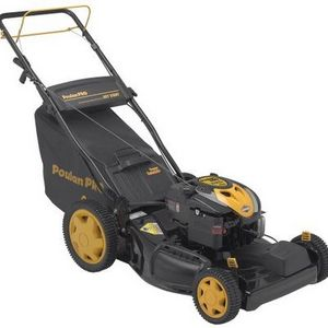 Poulan Pro 22-inch Series Briggs & Stratton Gas Powered Side Discharge/Bag/Mulch Self-Propelled Lawn Mower