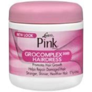 Luster's pink Grocomplex 3000 hairdress