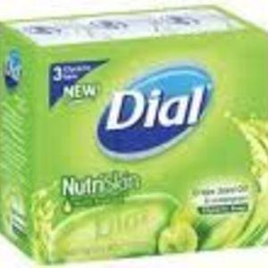 Dial NutriSkin Grape Seed Oil & Lemongrass Glycerin Bar Soap