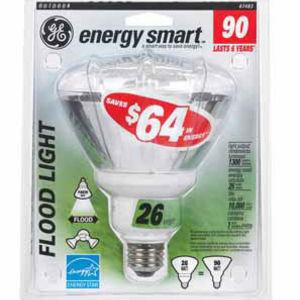 GE 26 Watt Compact Fluorescent Outdoor Floodlight 47483