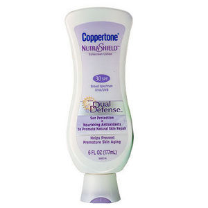 Coppertone NutraShield Sunscreen Lotion With Dual Defense (30 SPF)