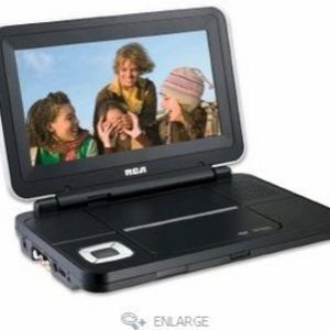 RCA - in. Portable DVD Player with Screen