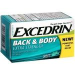 Excedrin Extra Strength Back & Body Pain Reliever