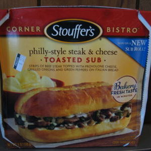 Stouffer's Corner Bistro Philly-Style Steak & Cheese Toasted Sub